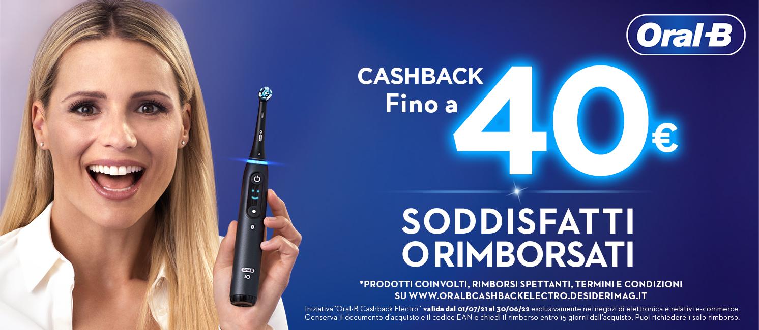 Cashback Braun Oral-B Cashback Braun