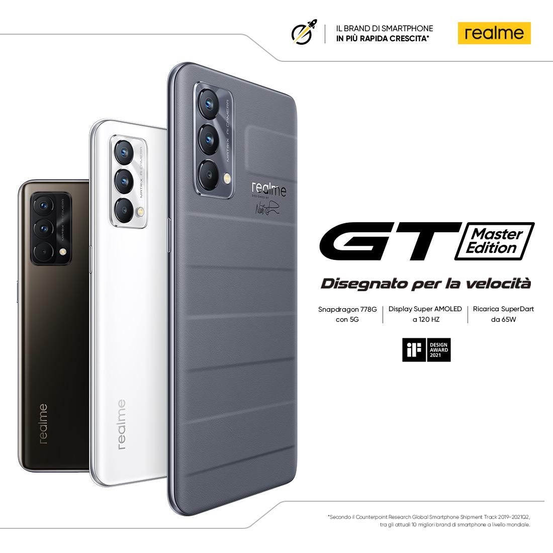 Promozione Grandi Elettrodomestici: Realme GT Master Lancio