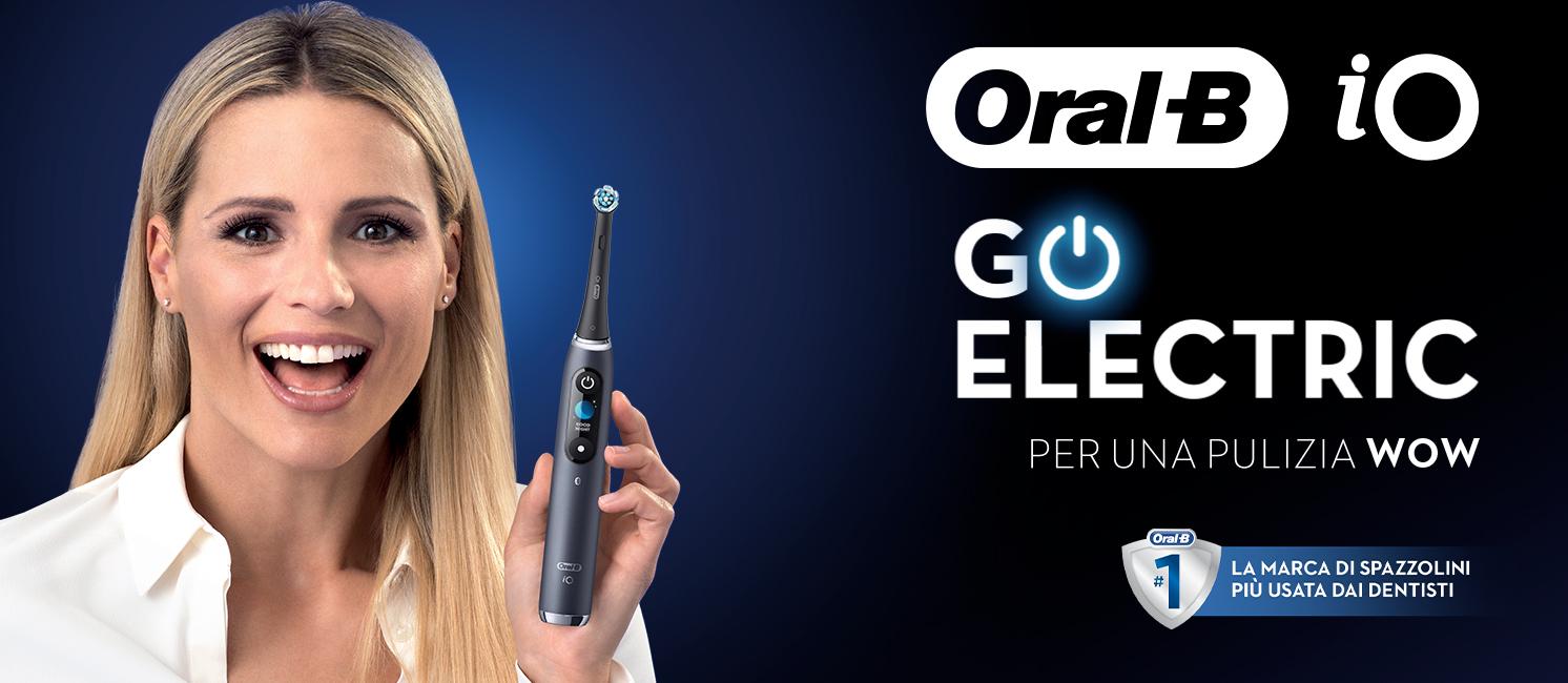 Promozione Piccoli elettrodomestici: Braun Oral B IO
