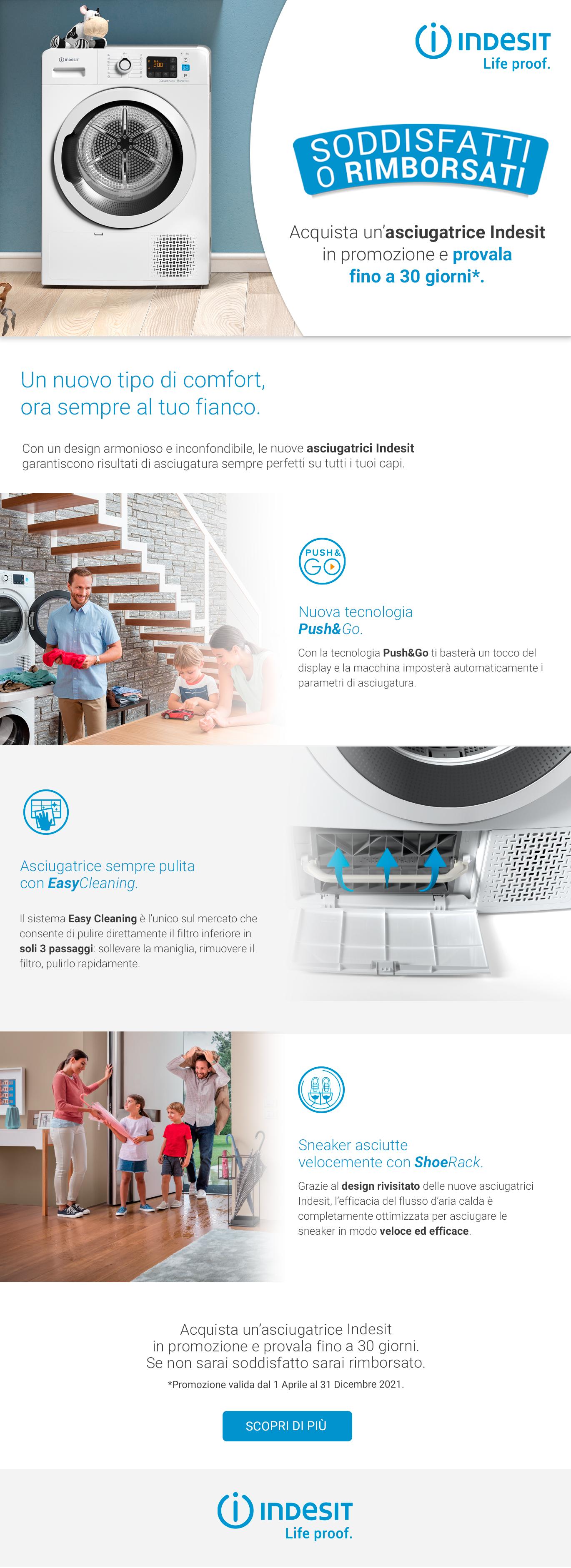 Promozione Grandi Elettrodomestici: Indesit SoR