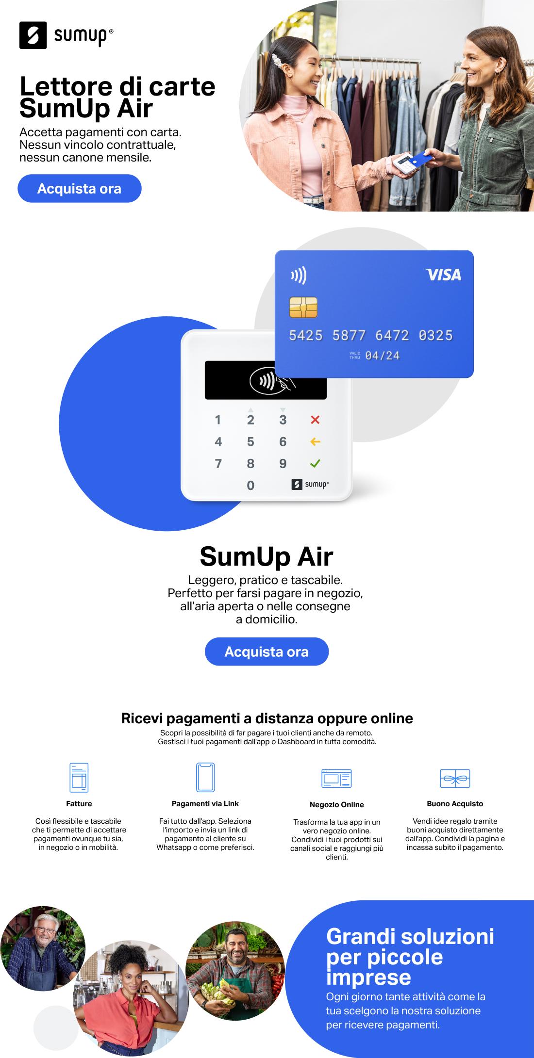 Promozione SumUp