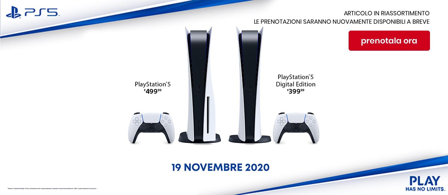 Promozione Console e Games: Sony Ps5 Preorder