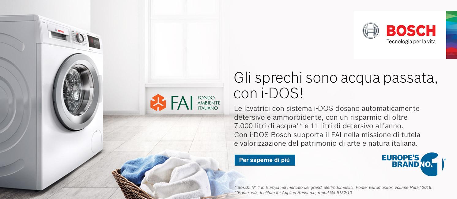 Promozione Bosch i-DOS