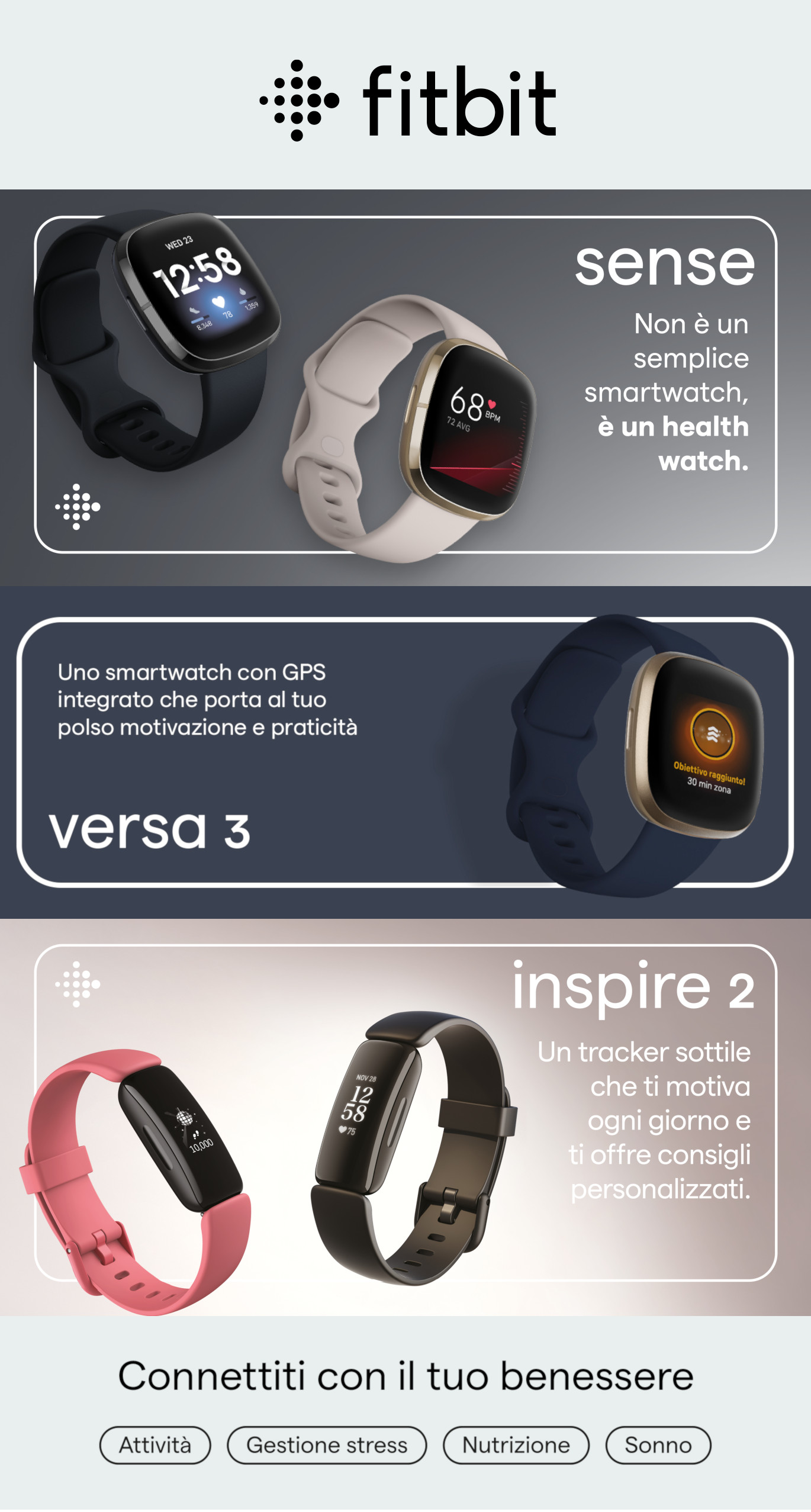 Promozione Fitbit lanci settembre 2020