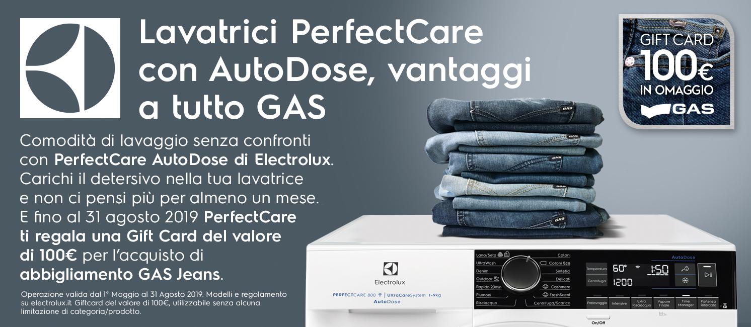 Promozione Electrolux gas jeans