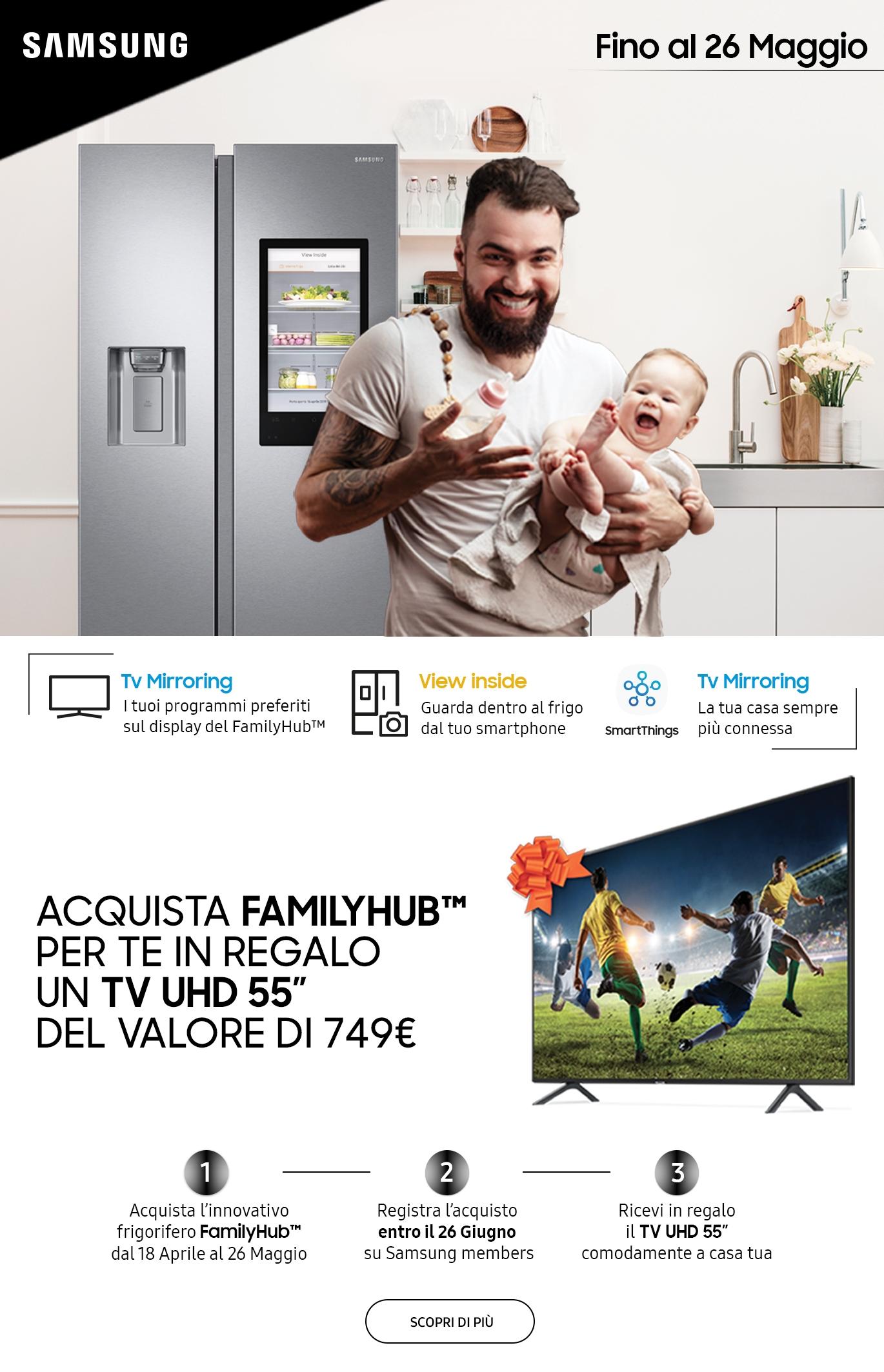 Promozione Family Hub Samsung