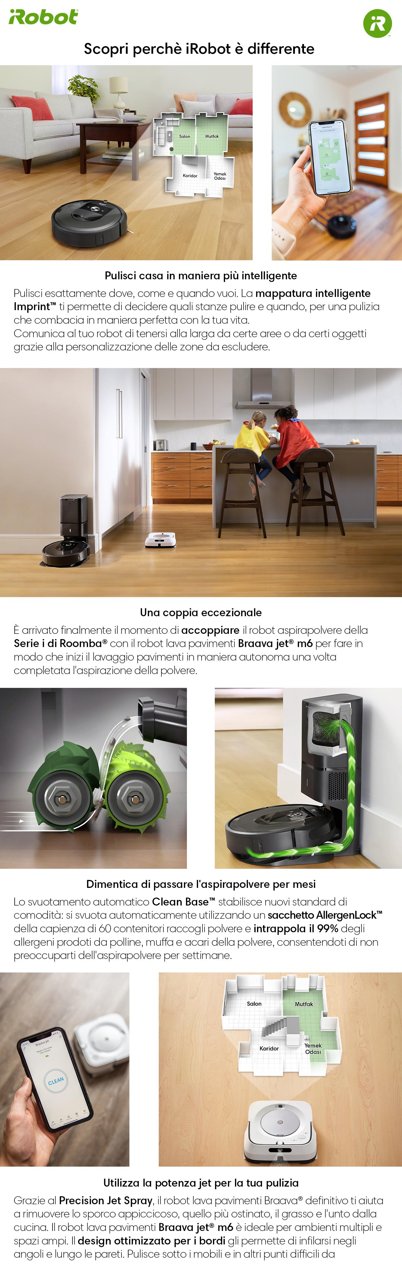 Promozione Piccoli elettrodomestici: Roomba iRobot